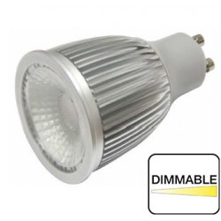 Dicroica Epistar COB 6W Gu10 Dimmable