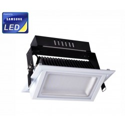 Serie Shop - Downlight 30W Samsung Rectangular